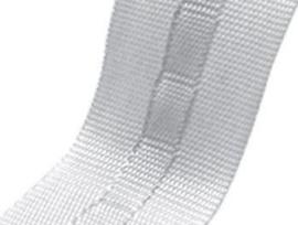 Stangeneinschubband weiß 21mm