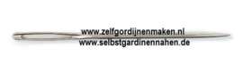 Prym Stiknaalden met scherpe punt nr.20, 1 x 43 mm