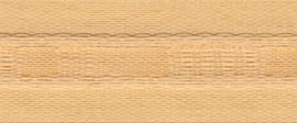 Universeelband/rimpelband beige 23 mm