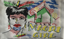 "Applikation "" Maori Girl"""