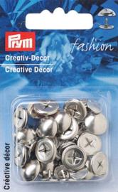 Prym Ziernieten 12mm Silber