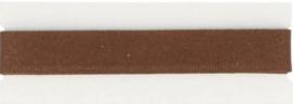 Broekstootband bruin, 15 mm - 1,5 m