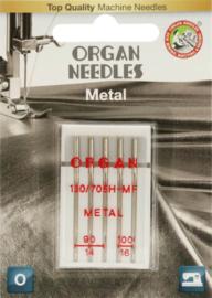 ORGAN NEEDLES METAAL 5 NAALDEN 90-100