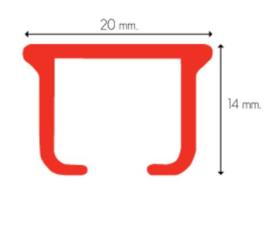KS-Afstandsteun Smartklick -7,5 cm