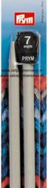 Jackenstricknadeln, Aluminium, 40cm, 7mm, grau