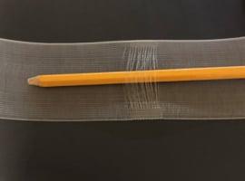 Roedeband 5 cm voor roedes van max. 22 mm