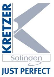 """KRETZER FINNY Stickschere - 5.0"""" / 13 cm"""