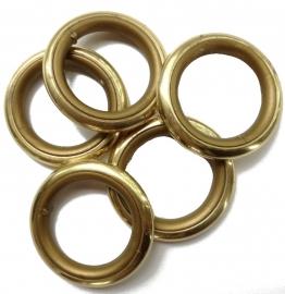 Roede ring met inleg 34/45