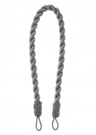 Embrasse kabel Dik 80 cm Bruin gemeleerd