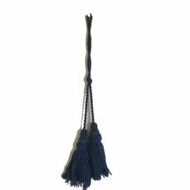 Schlüsselquaste blau 40 cm