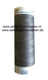 Polyester garen Antraciet 200m