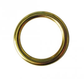 Ring Massiv-Messing-Matt 43/54
