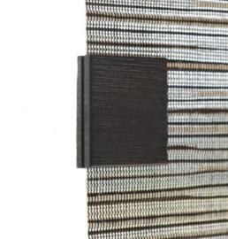 Flächenvorhang  magnete braun