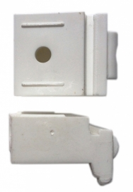 PF-Universalträger für Raffrollo mit Schnurzug Wandabstand 3 cm