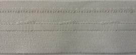 tunnelband/ baleinenband wit 2,8 cm