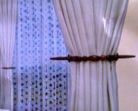 Embrassering kraal ovaal lichtbruin 2888-92
