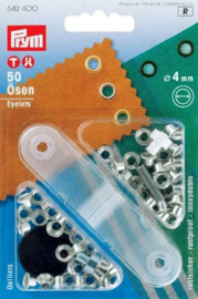 Prym Metall Ösen Nickel 4mm