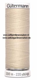 Gütermann Allesnäher 200 meter Sand -169