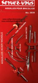 Reparatieset handwerknaalden 6 stuks