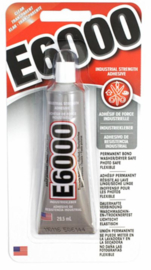 E6000 Medium Viscosity Clear Kleber - 39 gramm