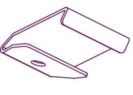 Deckenträger/ Schienen verbinder weiß