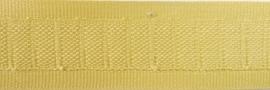 Flachband Hell-Ocker 25mm
