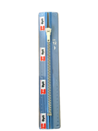 OptilonM60  broeken/rokken  rits jeans blauw 20 cm