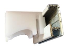 afstand wand / plafondsteun 20 mm