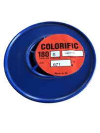 Colorific 180 denier Farbe Smoke , ca. 700 gramm
