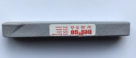 Biaisband grijs12 mm katoen