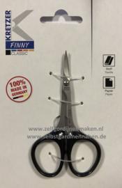 """Finny Kretzer classic gebogen schaartje 3,5"""" / 9cm"""