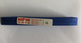 Biaisband blauw 12 mm katoen - kleur 44