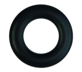 """""""KLIK""""zeilring zwart 55/80mm"""