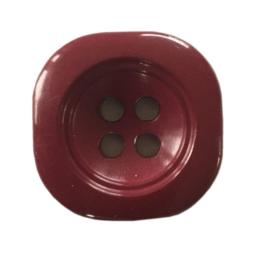 Knoop kunststof paars 20 mm