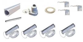 Ketting systeem BASIC 150 cm