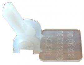 Schnurregler zum Einnähen für Schnur 1,4 mm