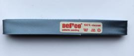 Satijn Biaisband  blauw 12 mm - 2 meter