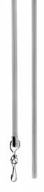 Trekstang  Alu-Grijs 100 cm
