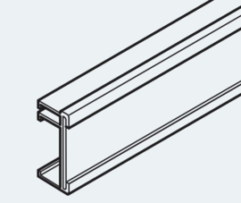 PF-Klettschiene Altea bis 95 cm