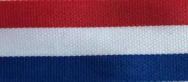 Gewebtes Band Höllandische Flagge 26 mm