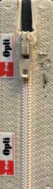 Optilon S40 rits niet deelbaar creme / ivoor