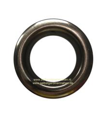 Zeilring 40mm antiek nikkel Brush