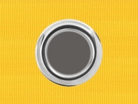 Ösenband 100mm Gelb