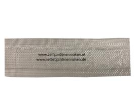Baleinenband  / plooiband 24mm transparant