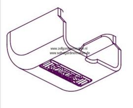 Abdeckkappe fürr Deckenträger Click-in weiß