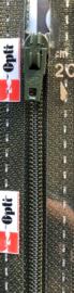 Optilon S40 rits niet deelbaar groen / grijs