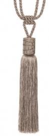 Raffhalter mit Quaste grau 70cm
