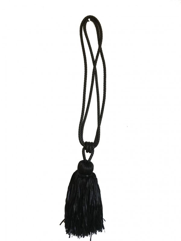Embrasse kwast - gevlochten band leather look