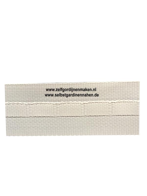 Stangeneinschubband Grau 22 mm
