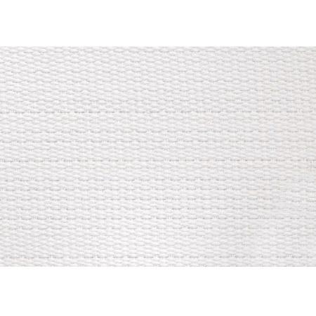 Ripsband 26 mm Wit